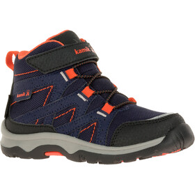 Kamik Bone GTX Chaussures de randonnée Enfant, navy/flame